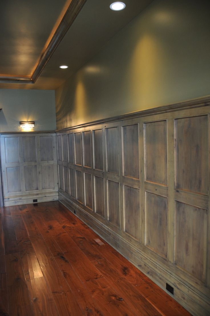 Image of: Wood Paneling Makeover Modern