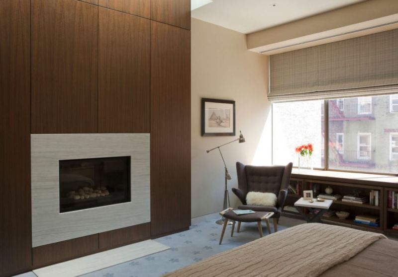 Image of: Wood Paneling Modern