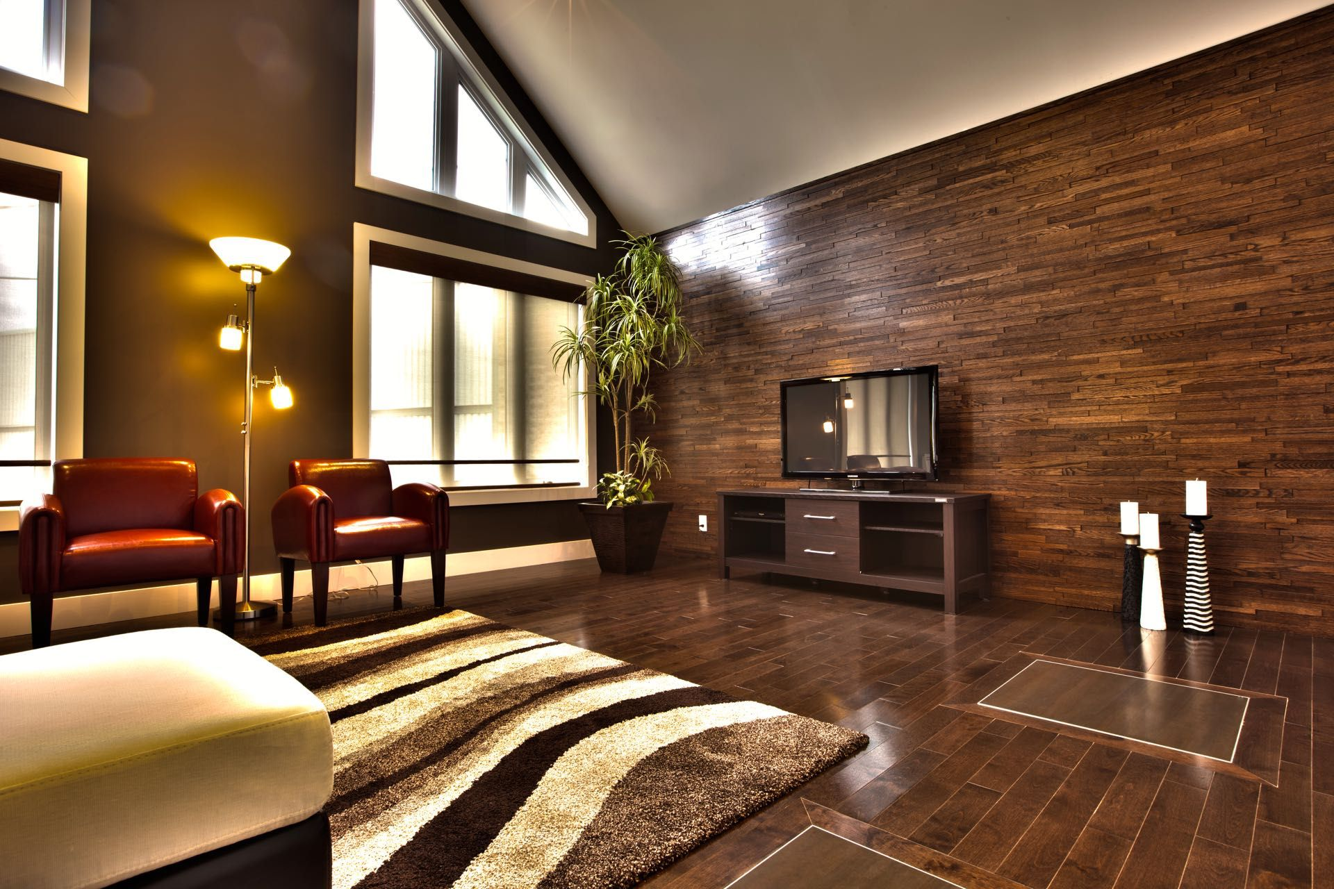 Image of: Wood Paneling Walls Design