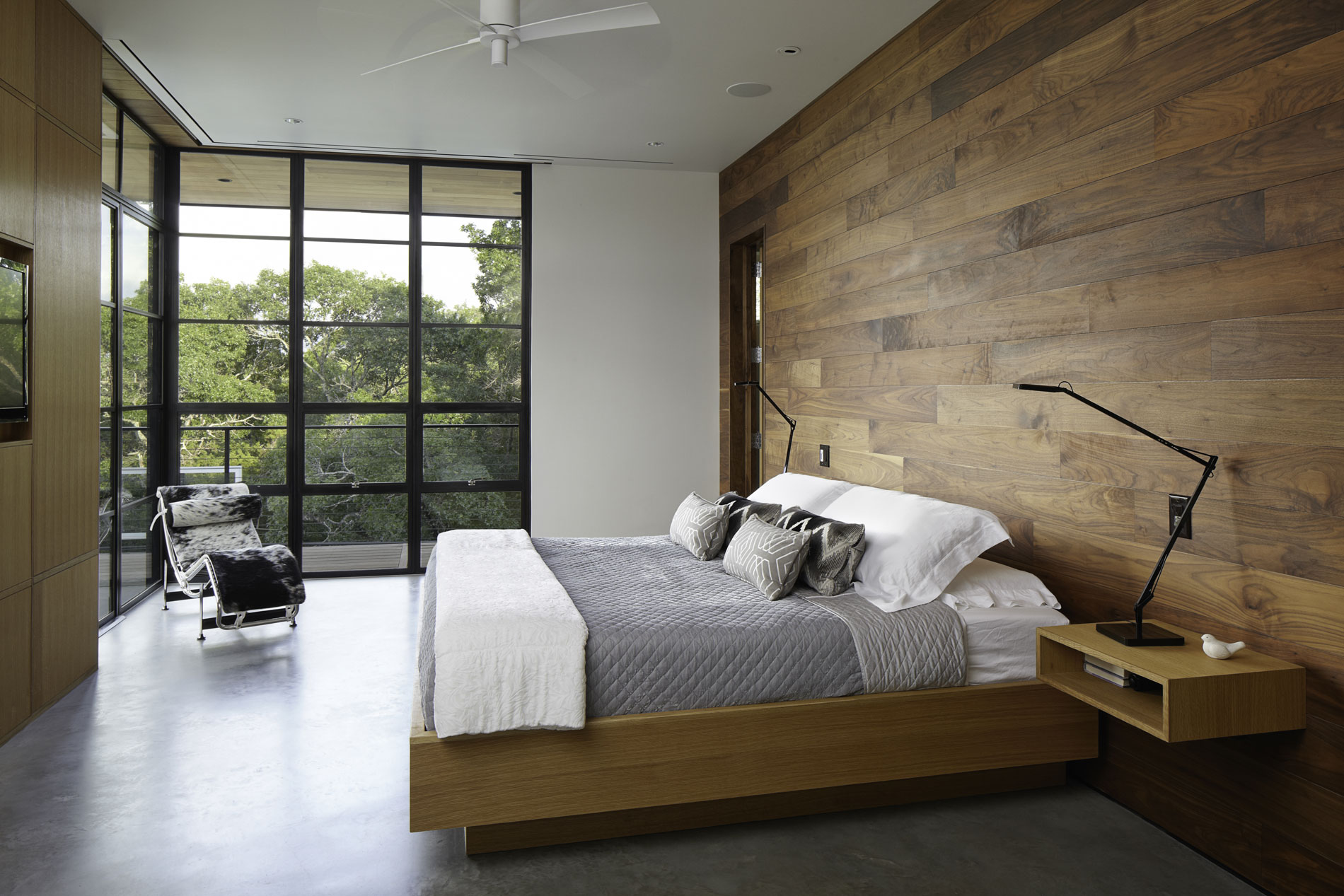 Image of: Wood Paneling Walls Minimalist