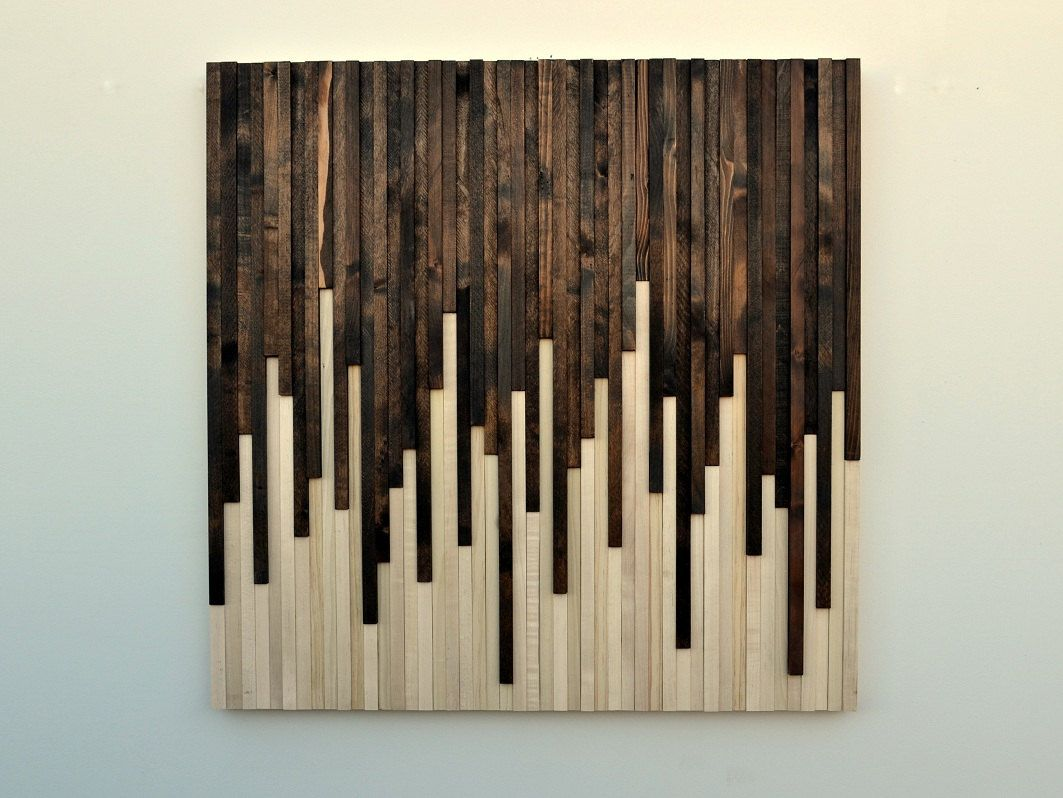 Wood Wall Art Panels Ideas
