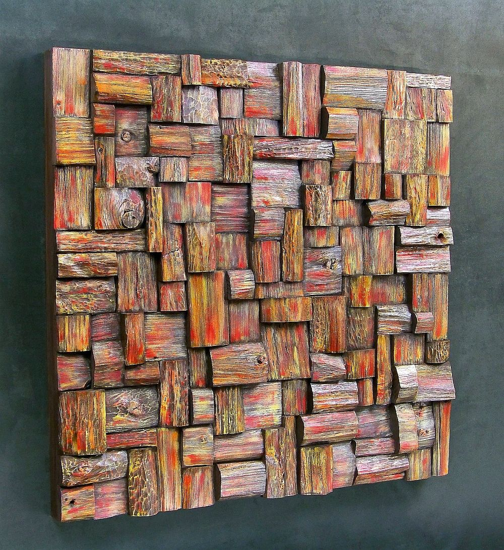 Wood Wall Art Panels Design