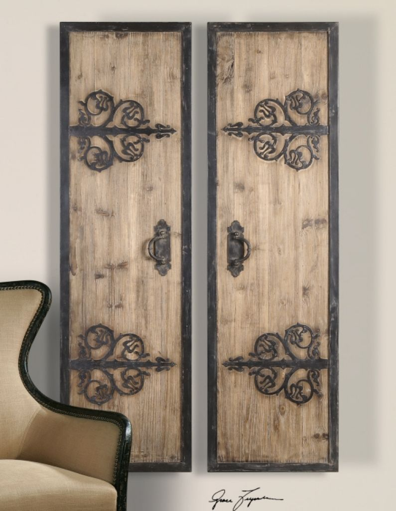 Antique Wood Wall Art Panels Ideas