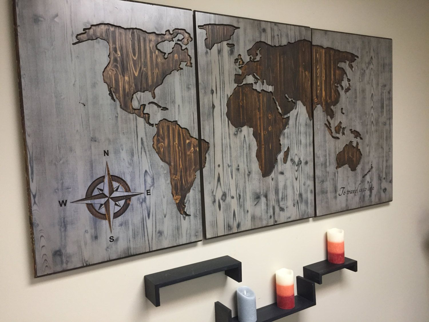 Wood Wall Art Panels Living Room