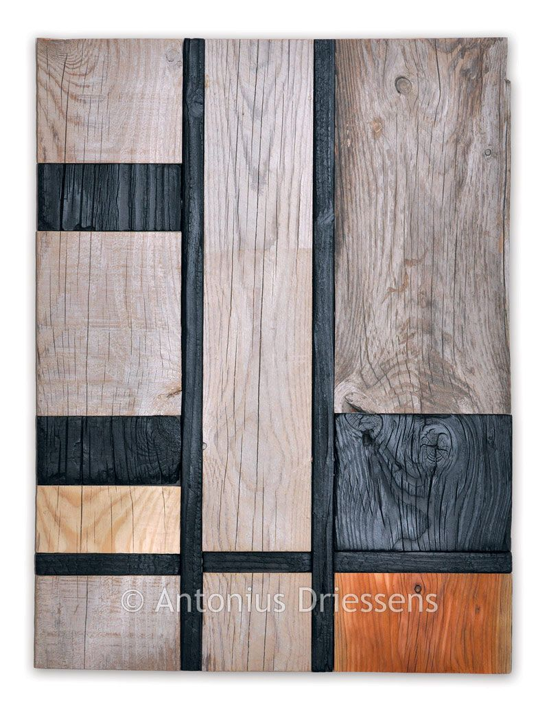Wood Wall Art Panels Square