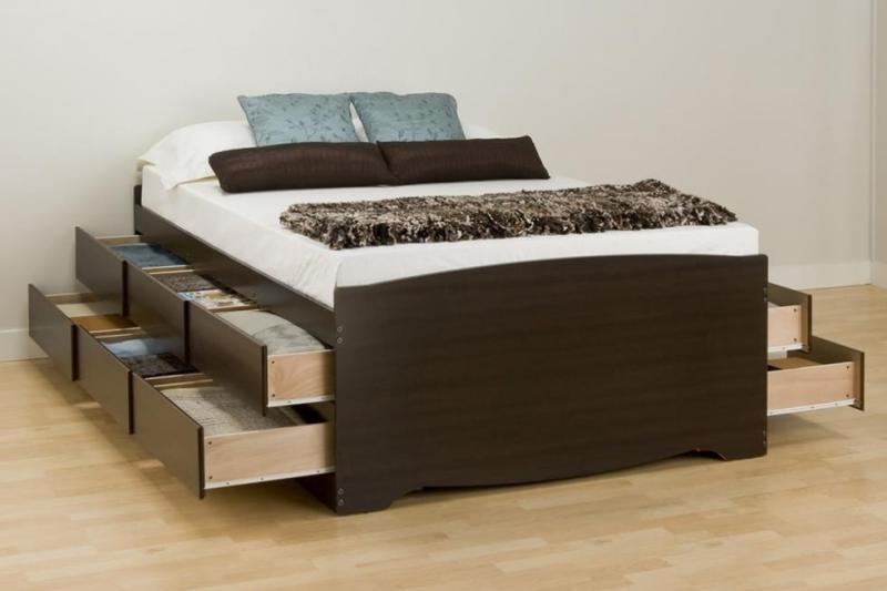 Picture of: 12 Drawer Storage Bed And Box
