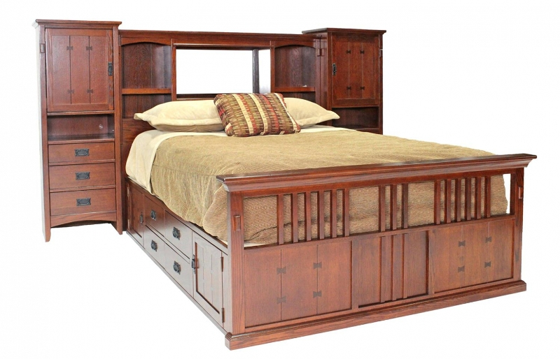 Picture of: 12 Drawer Storage Bed King