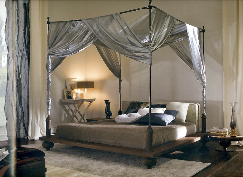 Picture of: 4 Poster Bed Canopy Ideas