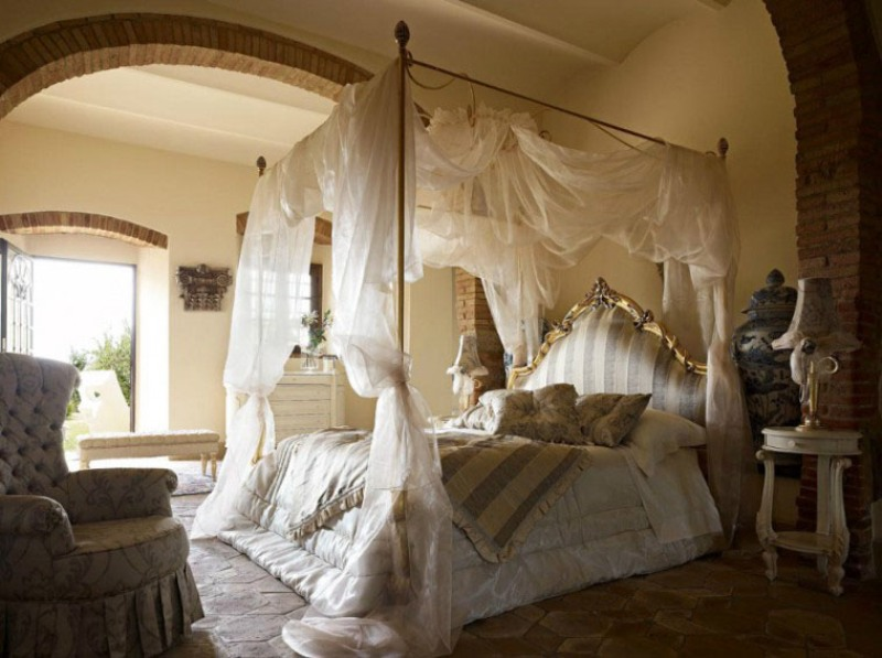 Picture of: Bed Canopy Ideas Pictures