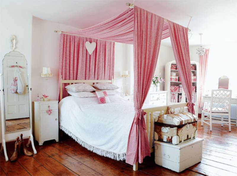 Picture of: Bed Canopy Ideas
