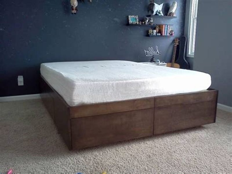 Best Queen Platform Bed Frame With Drawers