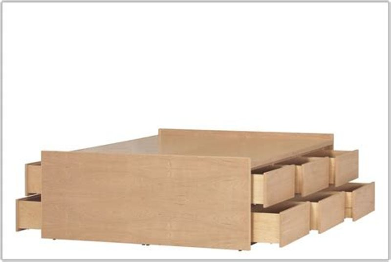 Picture of: Build 12 Drawer Storage Bed