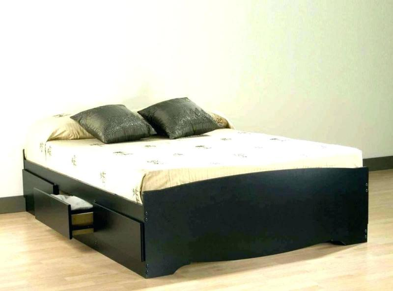 Full Bed With Storage Drawers Ideas