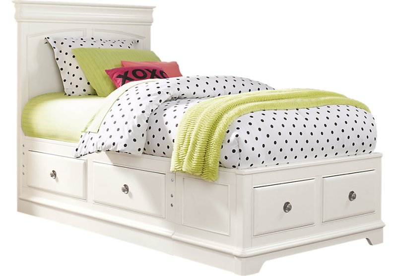 Full Bed With Storage Drawers