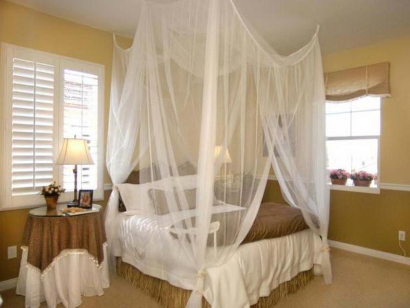 Picture of: Homemade Canopy Bed Ideas