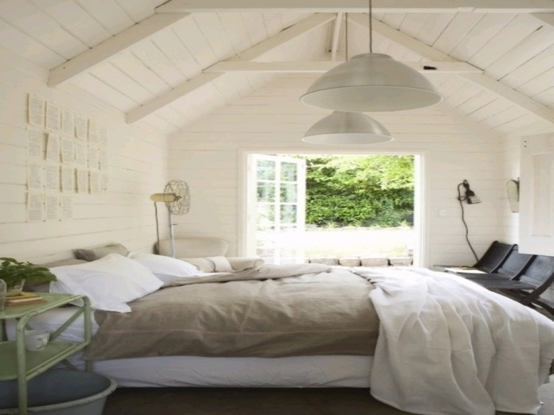 Picture of: Horizontal Wood Paneling White