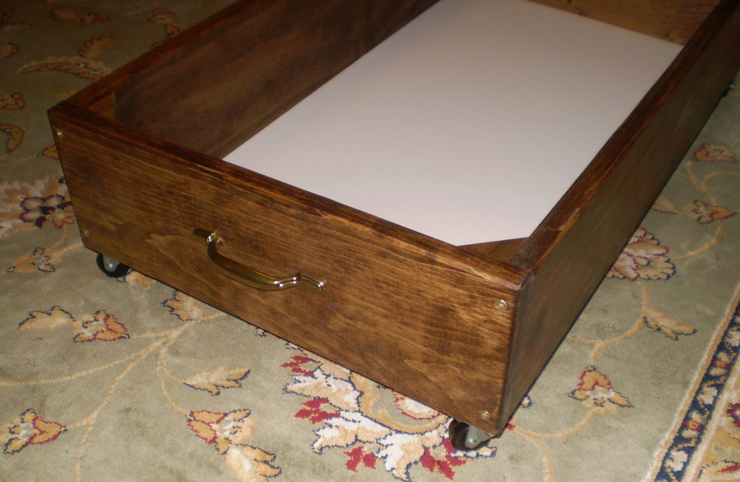 How To Make Rolling Under Bed Storage Drawers