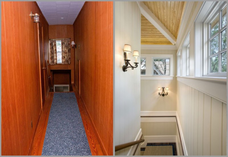 Picture of: How To Paint Over Wood Paneling