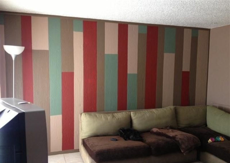 Picture of: How To Paint Wood Paneling Design
