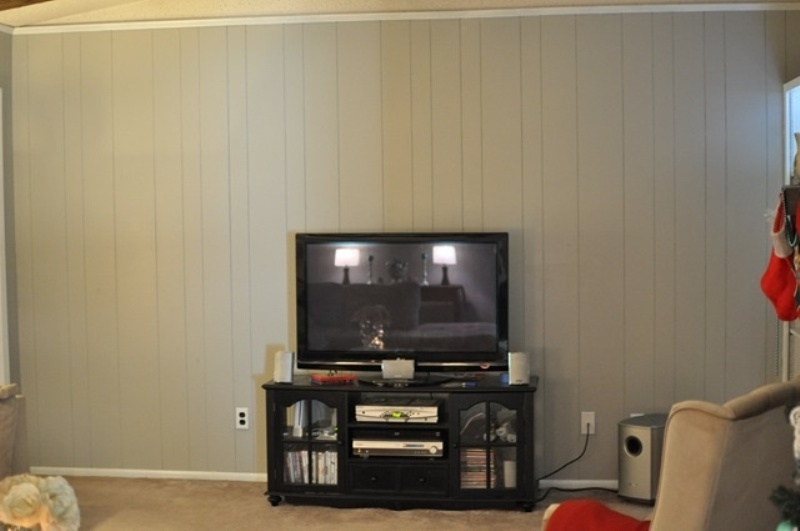 Picture of: How To Paint Wood Paneling Diy