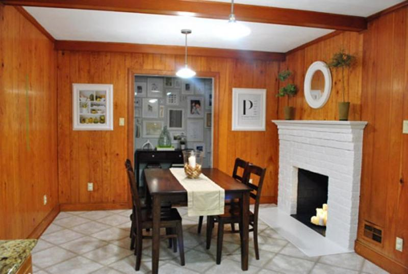 Picture of: How To Paint Wood Paneling With Grooves Design