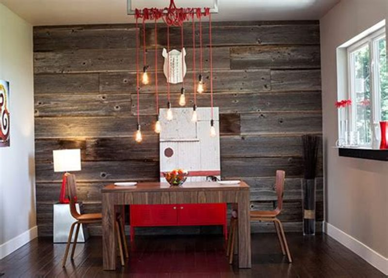 Picture of: Interior Wood Plank Walls