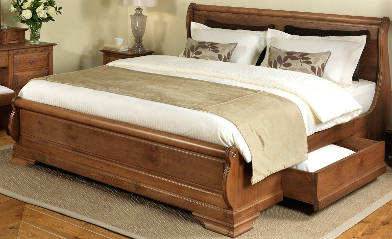 Picture of: King Beds With Storage Drawers Underneath Costco