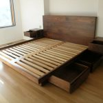 King Beds With Storage Drawers Underneath Plans