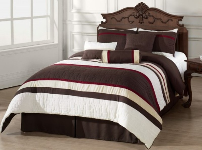 Image of: King Size Bed Sheets And Comforter Sets