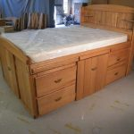 King Size Bed With Drawers Underneath Plans