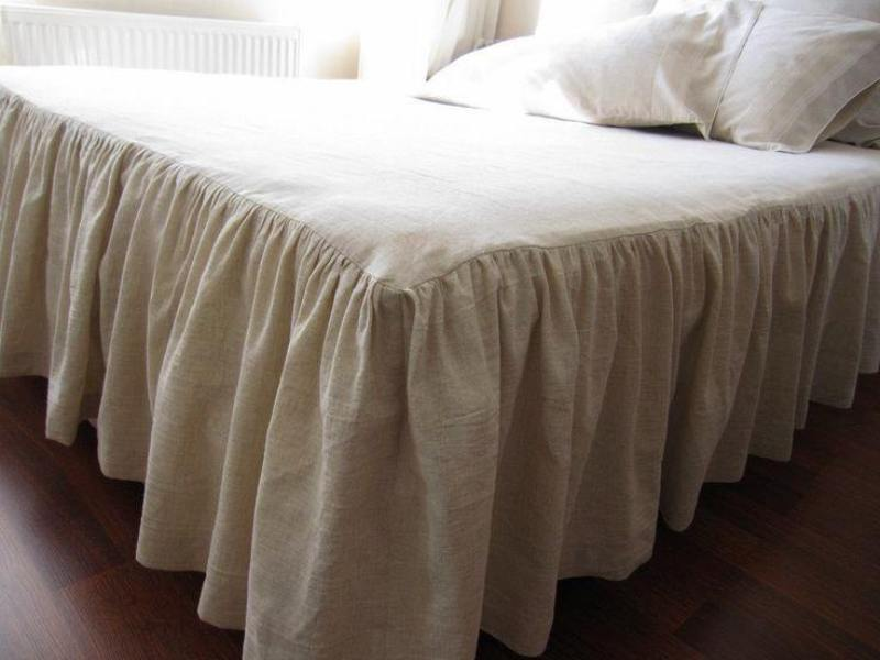 Image of: Nice King Size Bed Skirt