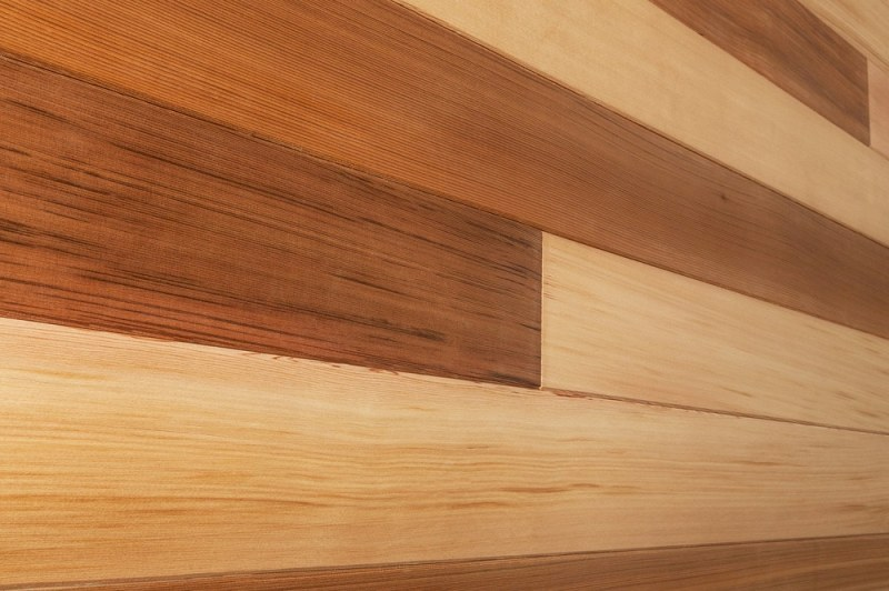 Picture of: Painted Horizontal Wood Paneling