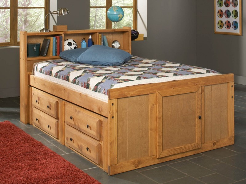 Perfect Full Bed With Storage Drawers