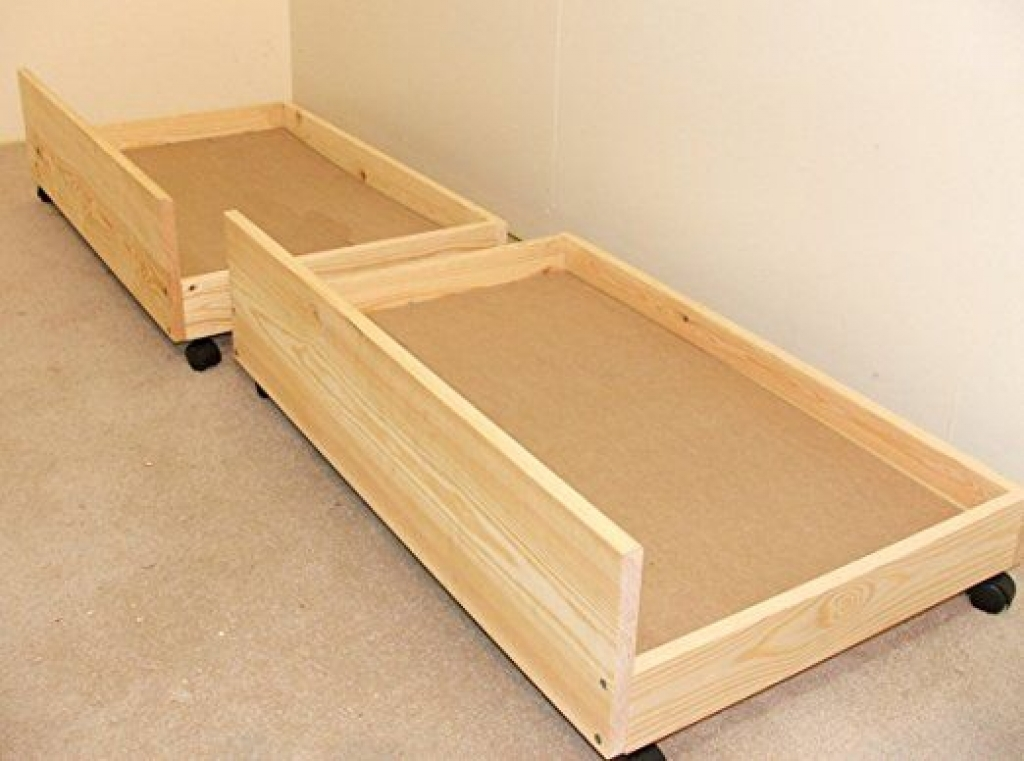 Perfect Rolling Under Bed Storage Drawers