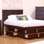 Popular Queen Platform Bed Frame With Drawers