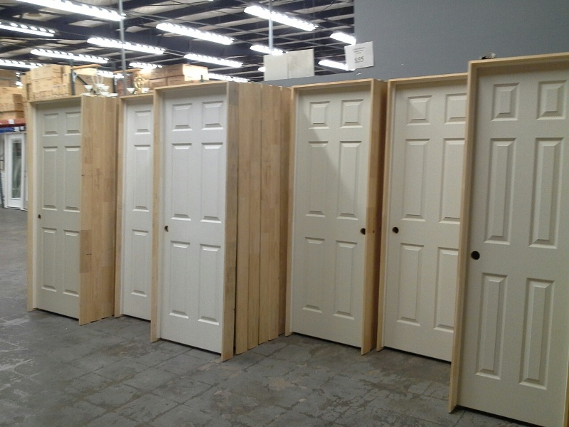 Prehung Six Panel Interior Doors