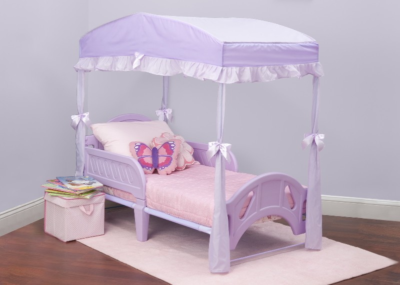 Princess Canopy Toddler Bed Color