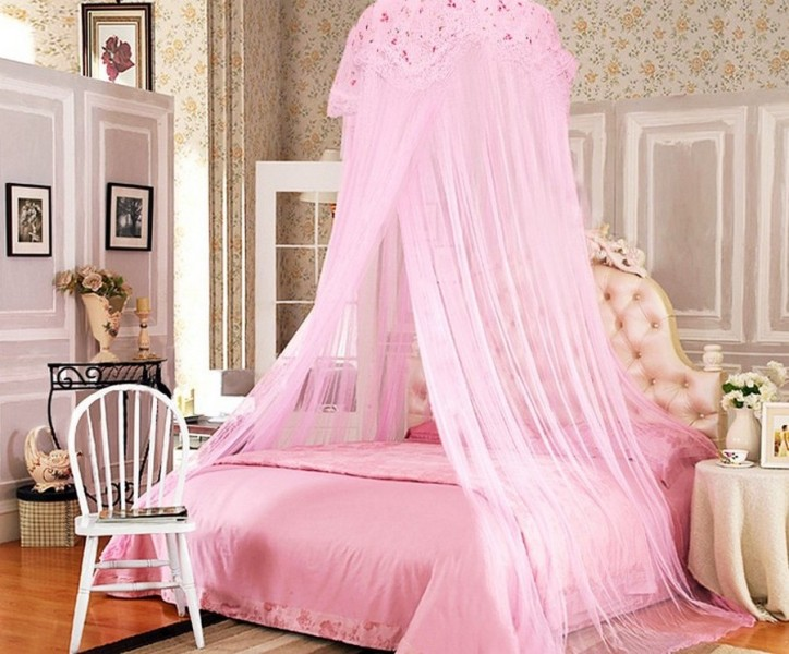 Princess Canopy Toddler Bed Curtains