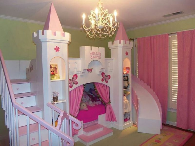 Princess Canopy Toddler Bed Theme