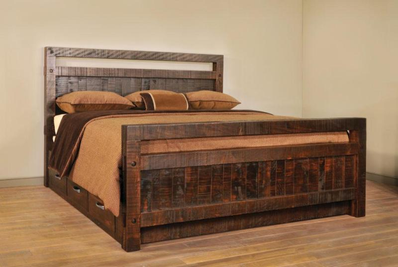 Picture of: Queen 12 Drawer Storage Bed