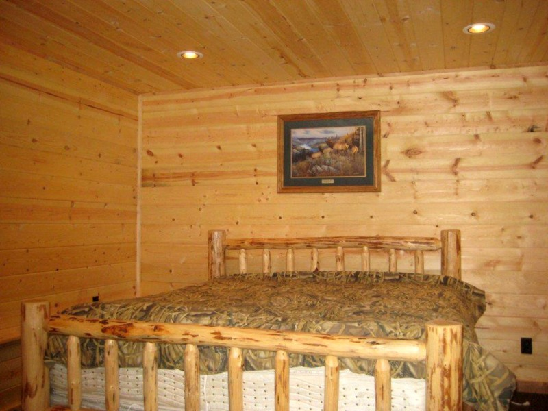 Picture of: Rustic Wood Paneling Color
