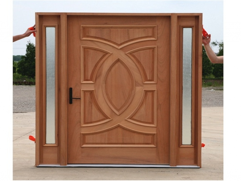 Solid Wood Six Panel Doors