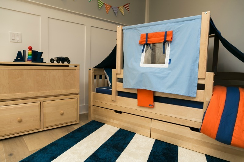 Image of: Toddler Bed Canopy Boy