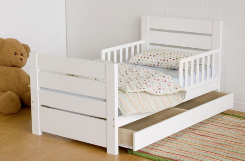 Toddler Bed With Drawers Underneath Idea