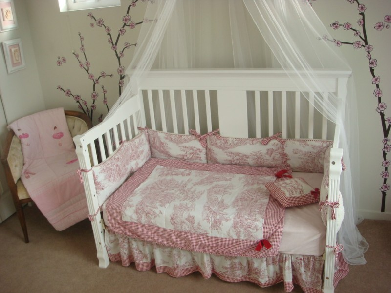 Image of: Toddler Canopy Bed