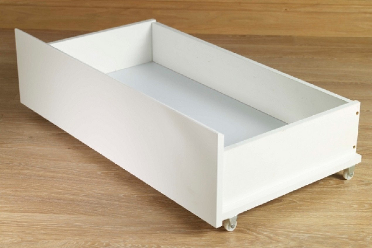 Under Bed Rolling Storage Drawers Cal King Bed