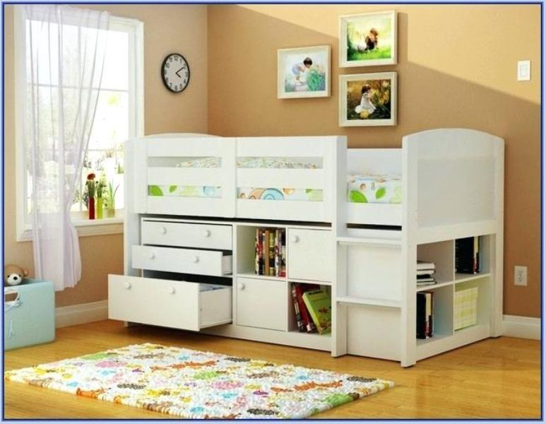Unique Toddler Bed With Drawers Underneath