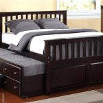 Bed Frame With Storage Drawers Full