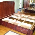 Bed Frame With Storage Drawers Plans