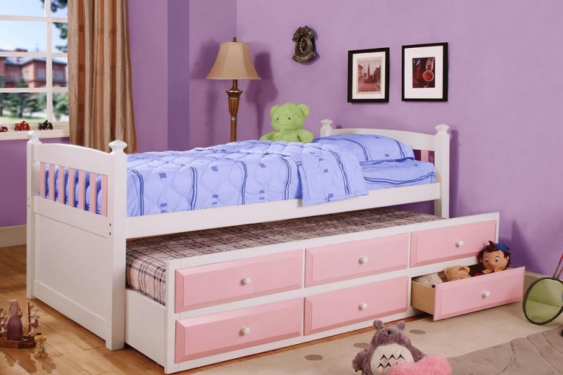 Captain Twin Bed With Trundle And Drawers